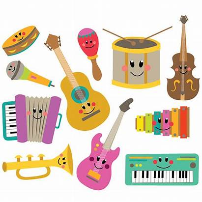 Instruments Musical Clipart Vector Zoom Instant
