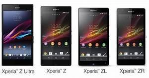 Sony Experia Z, ZL, ZR, Z ULTRA Price, Specs Comparison ...