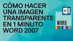 C, U00f3mo, Hacer, Una, Imagen, Transparente, En, 1, Minuto, En, Word
