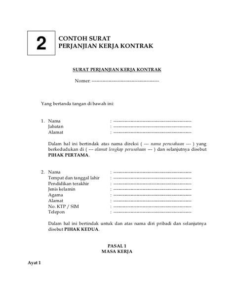 Contoh Surat Perjanjian Kerjasama Travel Agent Dengan Hotel - Surat 28