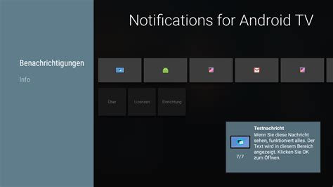 android tv app notifications for android tv android apps on play