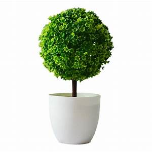 Artificial, Plants, Ball, Bonsai, Can, Washes, Decorative, Green, Plants, For, Home, Decoration, Plants