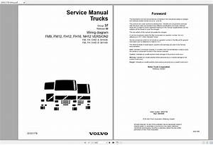 Volvo Fm12 Trucks Service Manual Buses  U0026 Wiring Diagrams