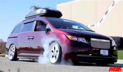 Honda Odyssey Bisimoto by Bisimoto S 1 029 Hp Honda Odyssey Is A Family Hauling