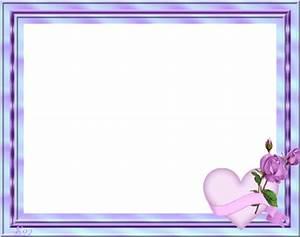 Photo Avec Cadre : cadre bleu avec un petit coeur avec rose centerblog ~ Teatrodelosmanantiales.com Idées de Décoration