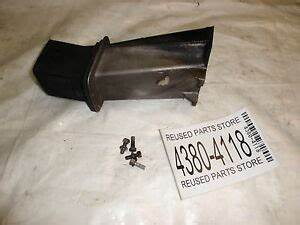 1973 Chrysler 70hp 707hf Outboard Motor Exhaust Pipe