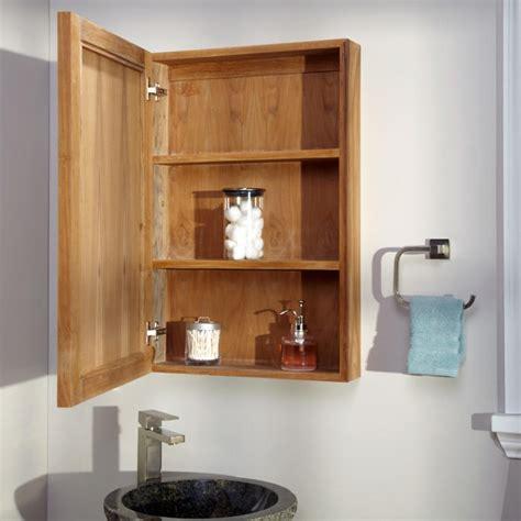 lahaie teak medicine cabinet medicine cabinets bathroom