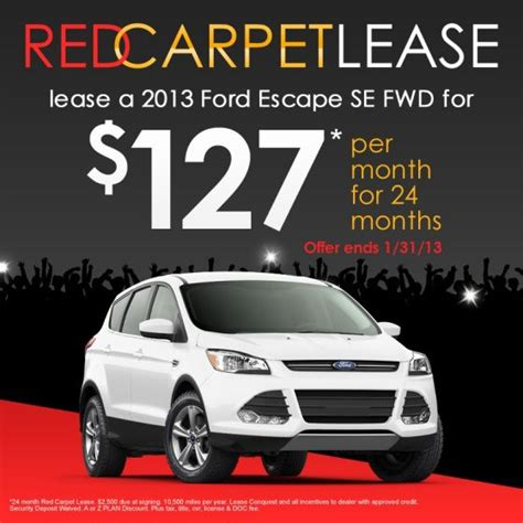 Ford Escape Lease   Autos Post
