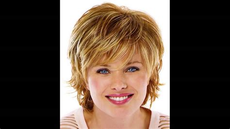 hairstyle  oval face double chin wavy haircut