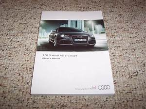 2013 Audi Rs5 Rs 5 Coupe Quattro Factory Original Owner U0026 39 S