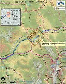 Upper Colorado River Map