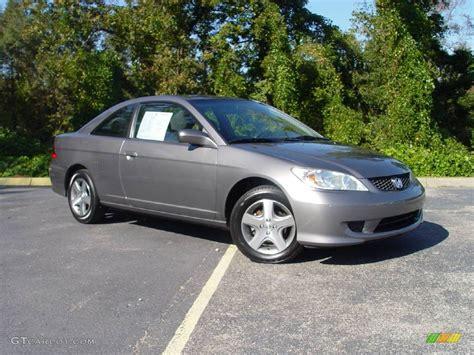 2004 Magnesium Metallic Honda Civic Ex Coupe #522035
