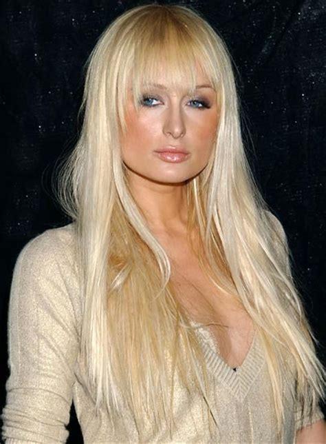 file 4788 paris hilton long bangs straight blonde   Beauty