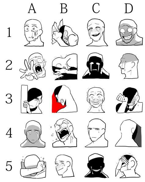 Facial Expression Memes - facial expression draw meme 2 by maiteritsuki on deviantart