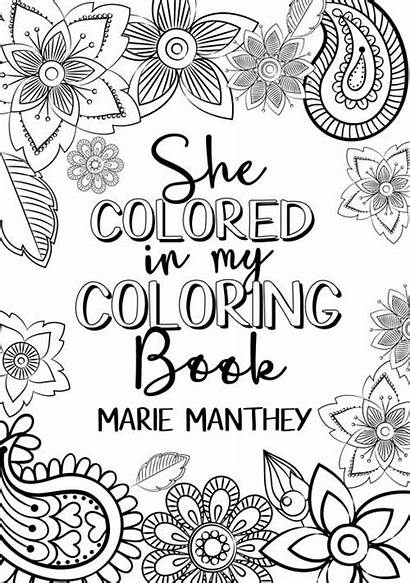 Coloring She Colored