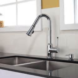 Kitchen Faucets Modern Kraus Single Lever Pull Out Kitchen Faucet Chrome Kpf 1650ch Modern Kitchen Faucets New