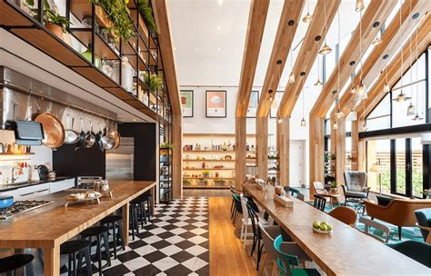Cafe Kitchen Decorating Ideas - a community centric apartment complex on the staten island waterfront freshome com