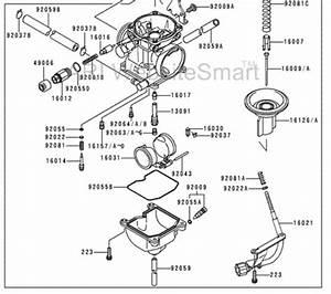 Kawasaki Bayou 220 Carburetor Diagram