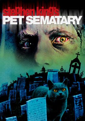 Pet Sematary (1989) For Rent On Dvd  Dvd Netflix