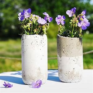 Vasen Aus Beton : diy blument pfe aus beton 12 tolle projekte f r anbauer ~ Sanjose-hotels-ca.com Haus und Dekorationen