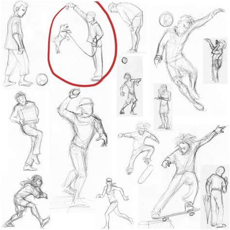 People Drawing Sketch