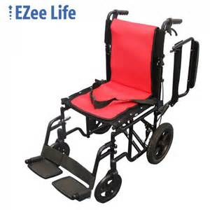 ezee life 18 quot seat width featherlite transport chair