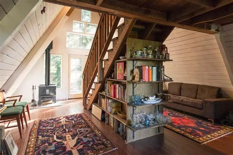 a frame home interiors retreat in a frame tiny cabin you 39 ll it