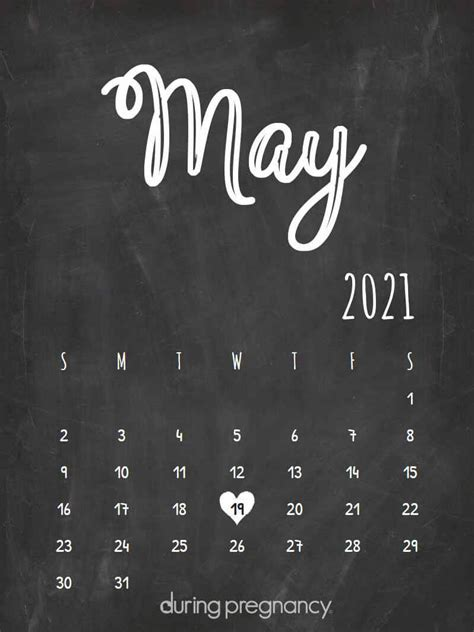 How Far Along Am I if my Due Date is May 19 2021