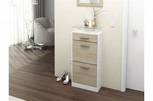 Meuble D Entrée Chaussures : meuble chaussures design pas cher 10 paires cbc meubles ~ Farleysfitness.com Idées de Décoration