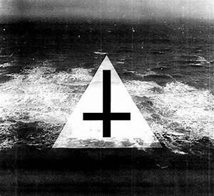 black, black and white, cross, illuminati, not satan ...