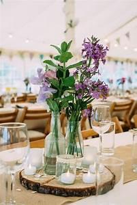 Centre De Table Champetre : 1001 id es de d co mariage champ tre faire soi m me ~ Melissatoandfro.com Idées de Décoration