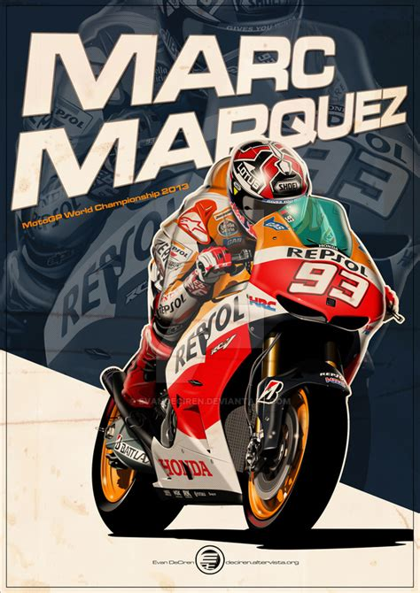marc marquez logo vector   clip art