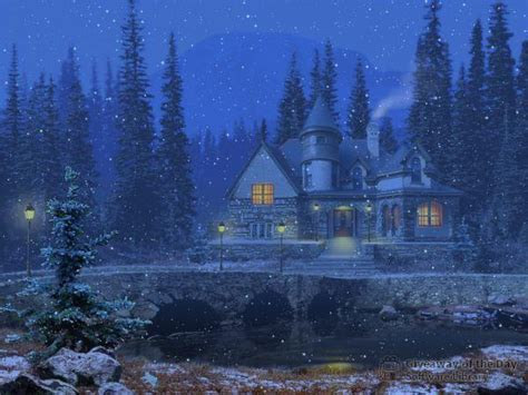 3d Snowy Cottage Animated Wallpaper Free - free freeze screensavers and wallpaper wallpapersafari