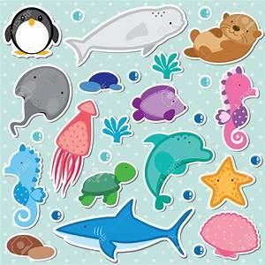 Baby Sea Animals Clipart (80+)
