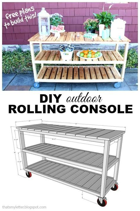 25 best ideas about outdoor serving cart on