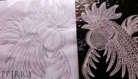 designing bobbin lace patterns  matters