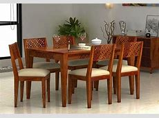 6 Seater Dining Table Set Buy Six Seater Dining Table Set