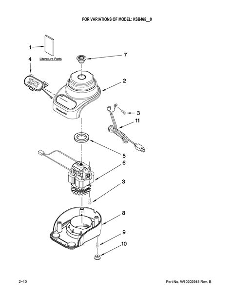Kitchen Blender Parts by Tips Simple Kitchenaid Blender Repair With Manual Book