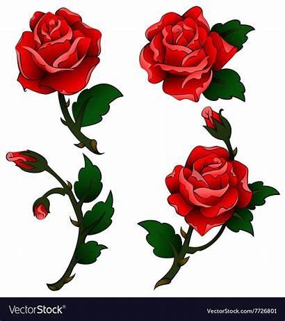 Tattoo Roses Oldschool Vectors