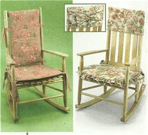 rocking chair cushions directors covers pattern 5952