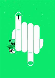 MTV Rock The Vote - Poster Series on Behance | Indian ...