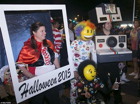 Greenwich Village Halloween Parade 2015 by Halloween Revelers From Superheroes To Killer Clowns