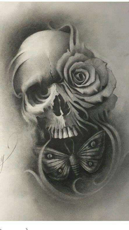 Pin Jesse Guerra Skull Tattoos Art Badass