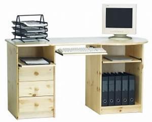 Pc Tisch Groß : massivholz schreibtisch h henverstellbar mit schubladen in ~ Lizthompson.info Haus und Dekorationen