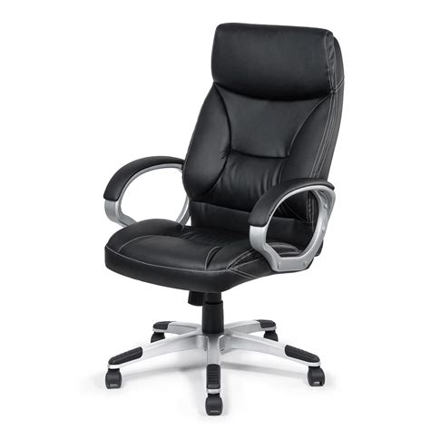 my sit office chair bora bora faux leather in black office