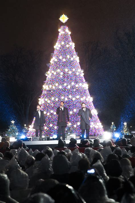 National Tree Lighting by Ge Led Lighting Shines Bright On The National