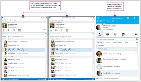 skype version bureau why do i see skype for business when i 39 m lync