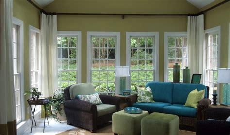 Kitchen Bay Window Treatment Ideas - impressive sun room concept ideas