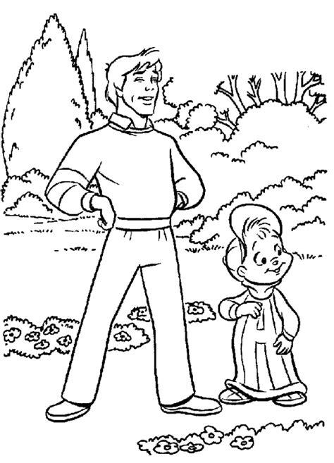 Alvin En De Chipmunks Kleurplaat by Kleurplaten En Zo 187 Kleurplaten Alvin En De Chipmunks