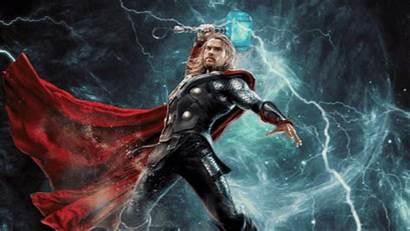 Thor Thunder God Norse Mythology Odin Son